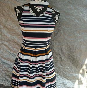 Dresses & Skirts - Striped XS Dress